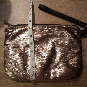 Merona Gold Sequin Clutch